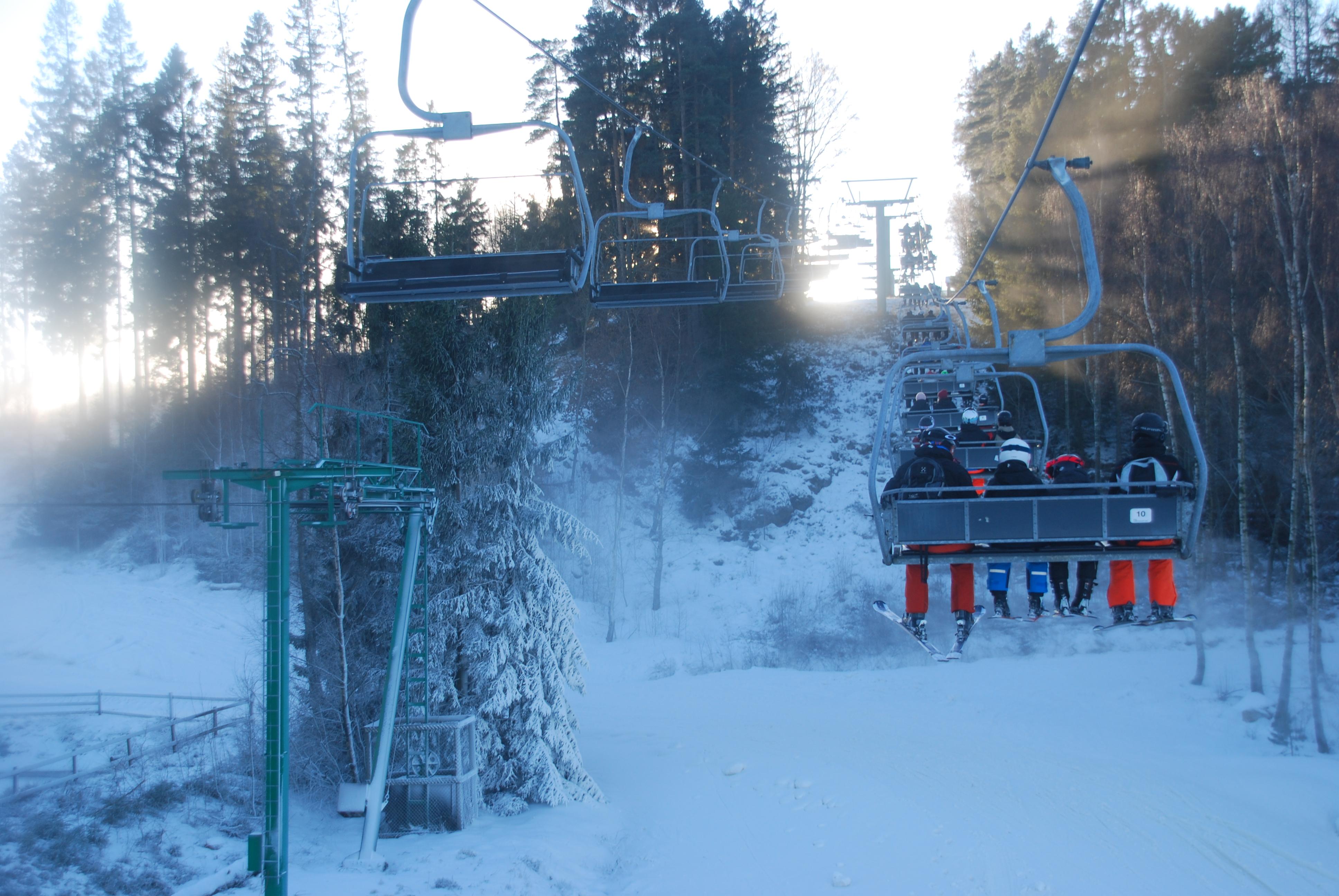 skisportssteder i norge på kort
