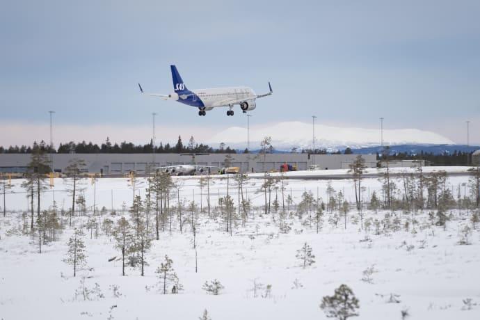 SAS fortsætter med at satse på direkte ruter fra Danmark til Scandinavian Mountains Airport